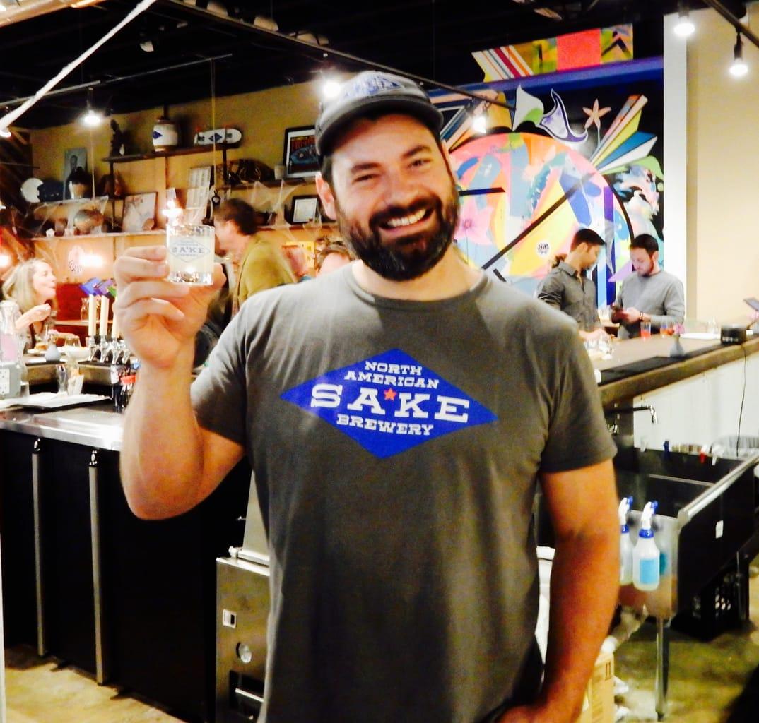 Andrew Centofante Owner North American Sake Brewery
