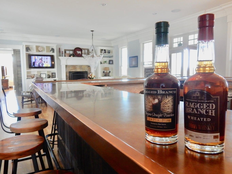 Bourbon Ragged Branch Distillery Charlottesville VA