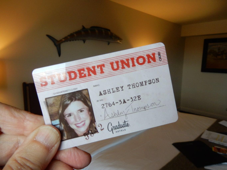Key Card The Graduate Charlottesville VA