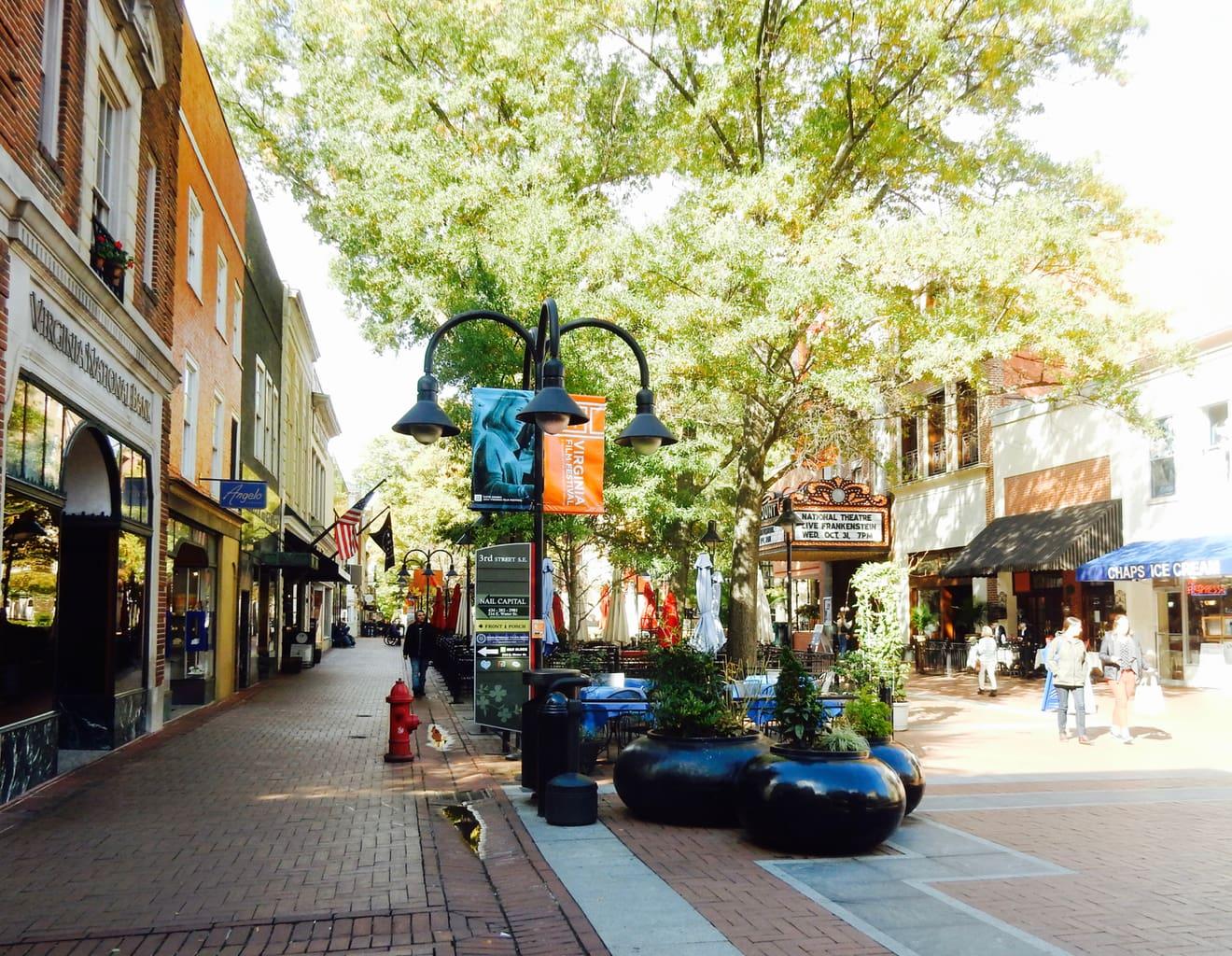 Charlottesville Downtown Mall VA
