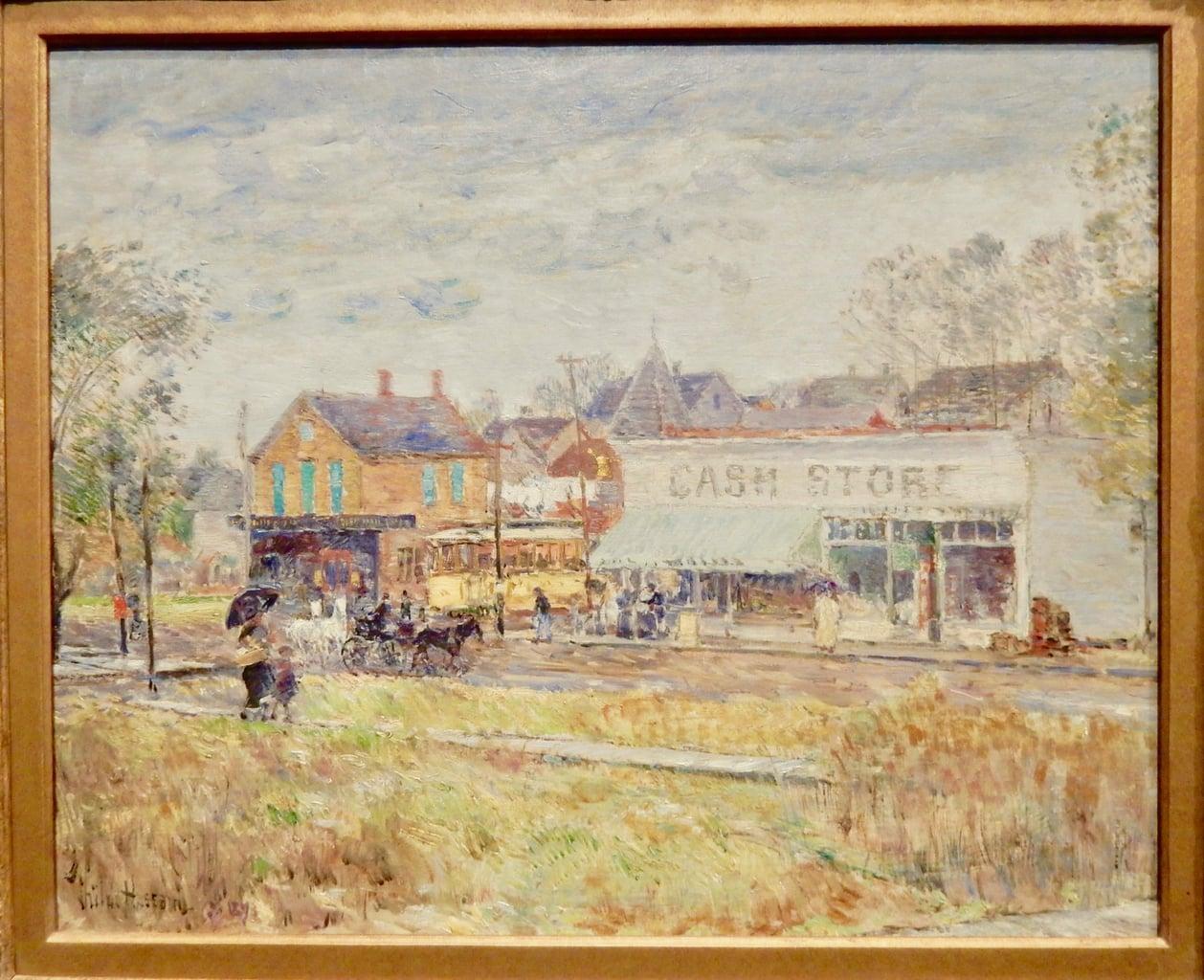 Childe Hassam Fralin Art Museum UVA Charlottesville VA