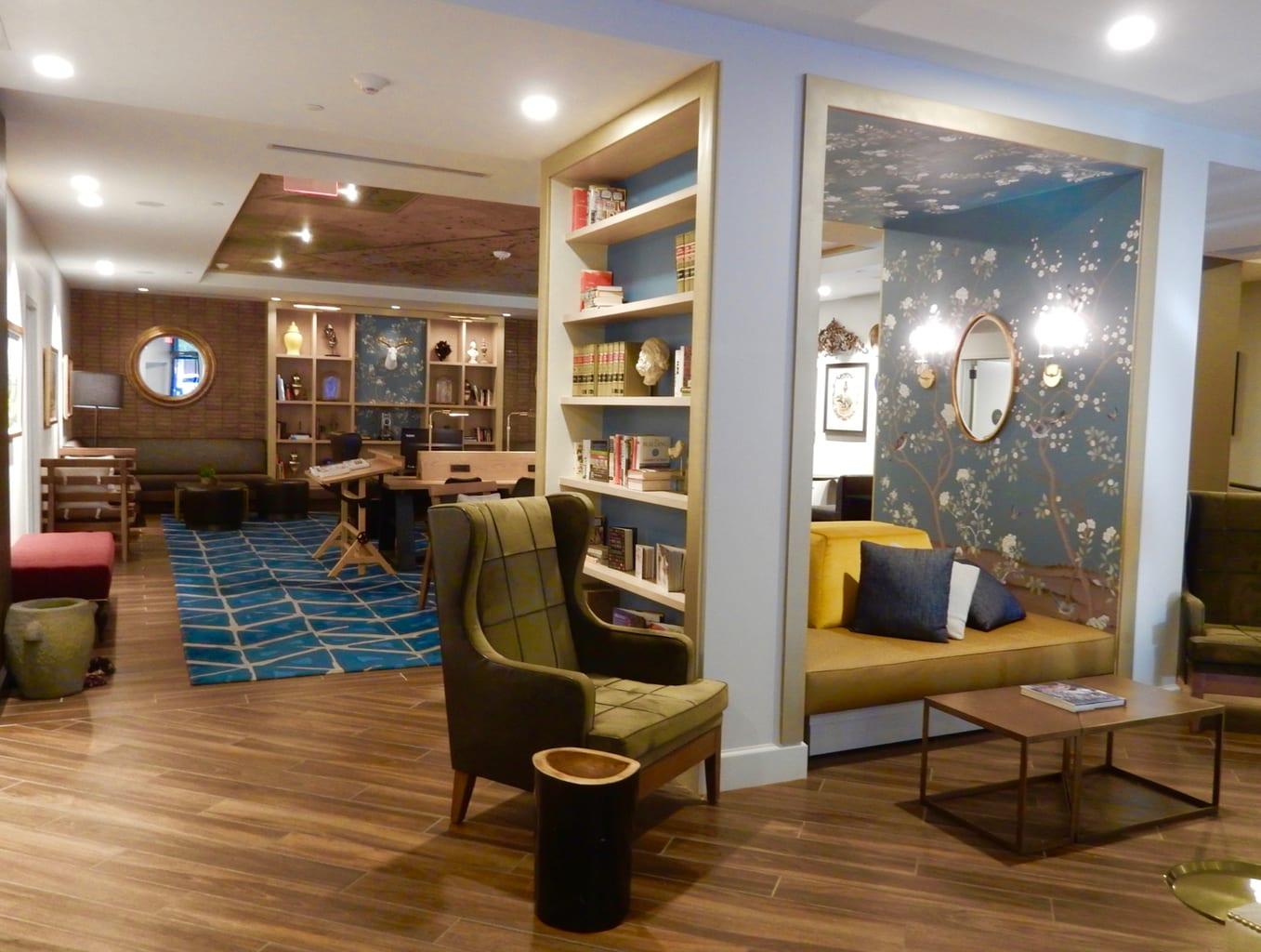 Draftsman Hotel Lobby Charlottesville VA