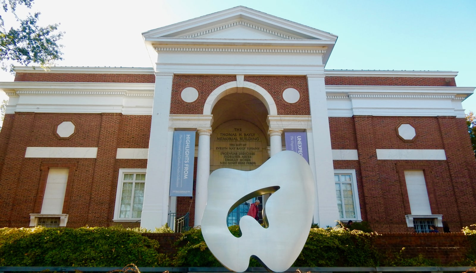 Fralin Museum of Art on UVA Campus Charlottesville VA