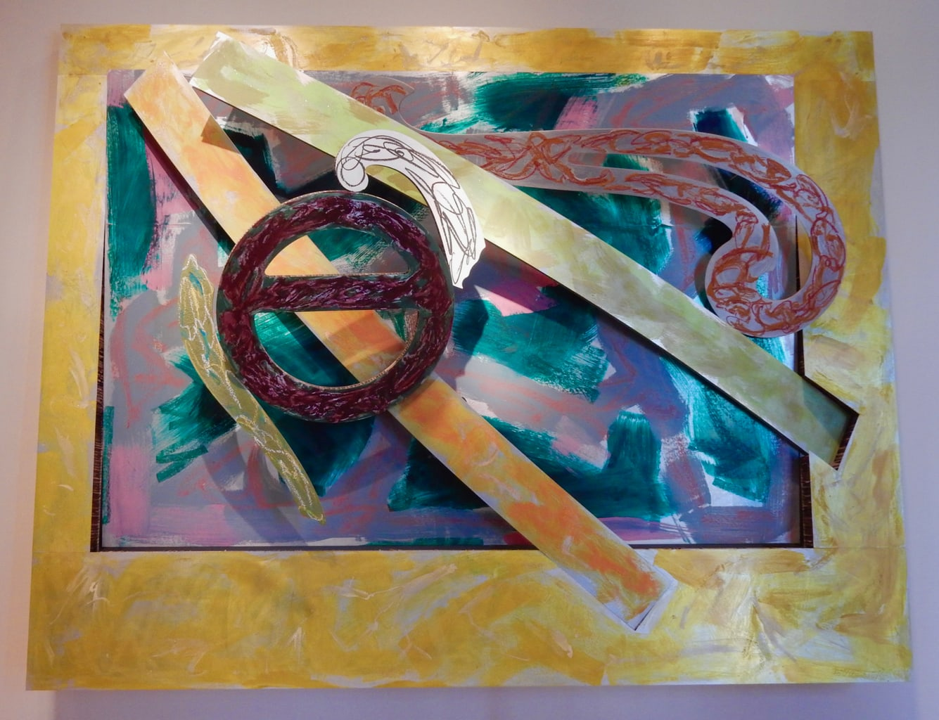 Frank Stella Fralin Museum of Art on UVA Campus Charlottesville VA