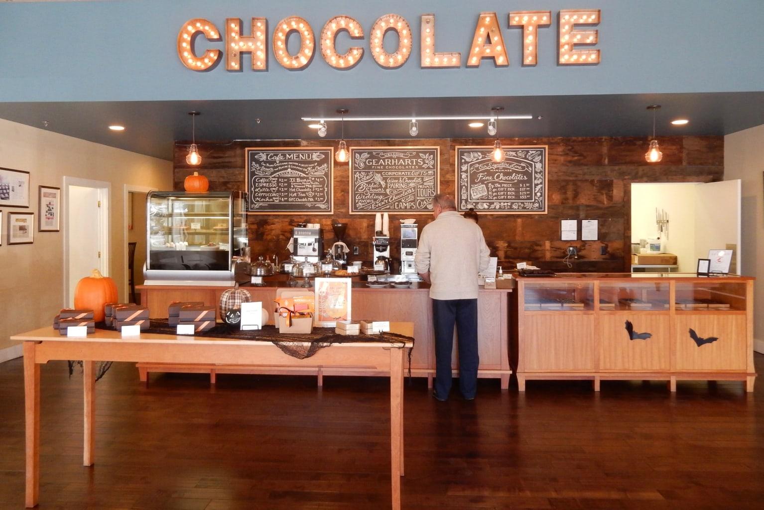 Gearhart's Chocolate Charlottesville VA