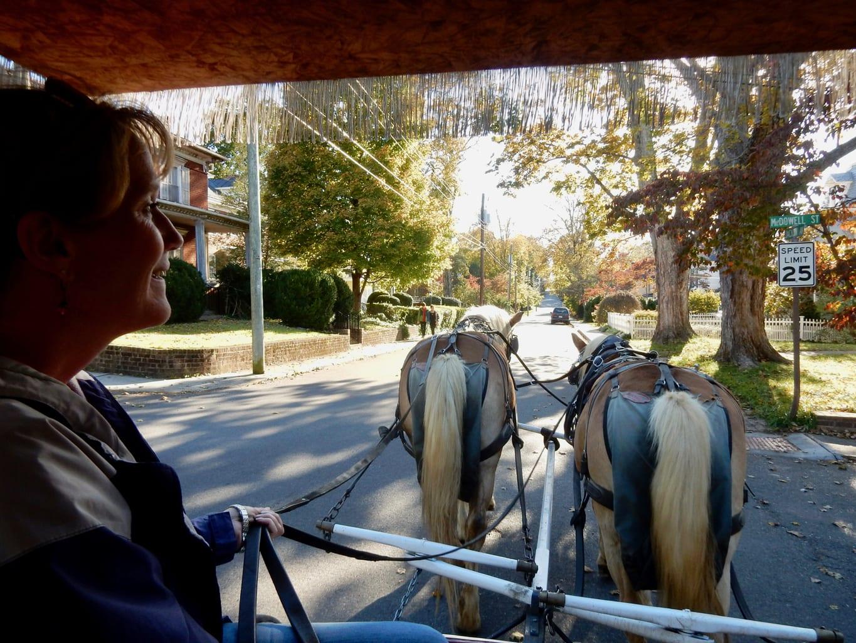 Lexington VA Neighborhood Carriage Tour