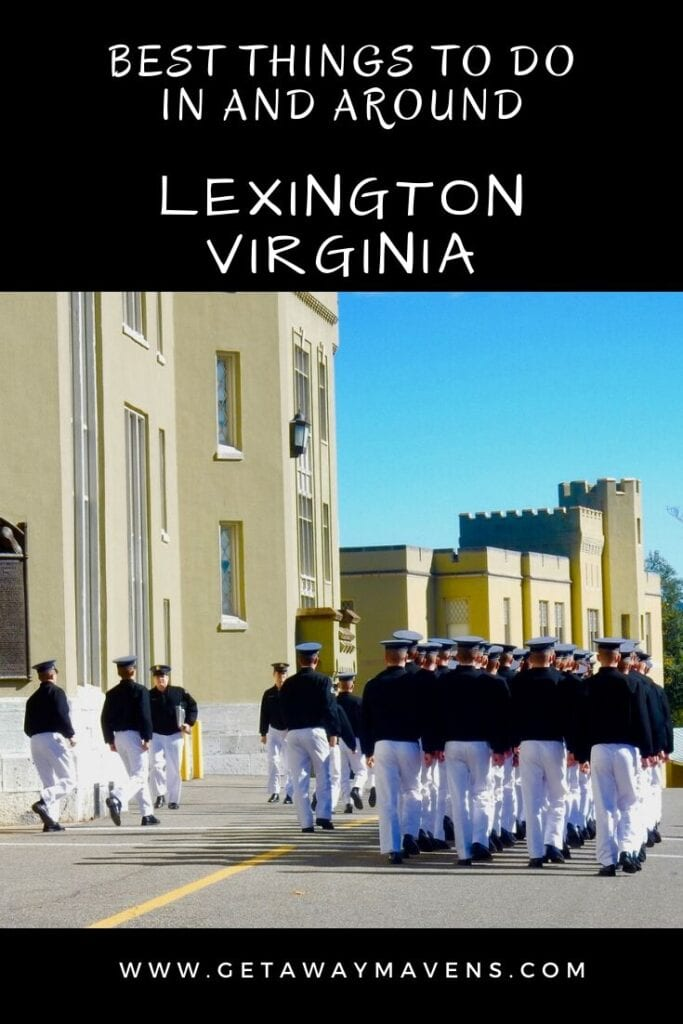 Lexington VA Pin