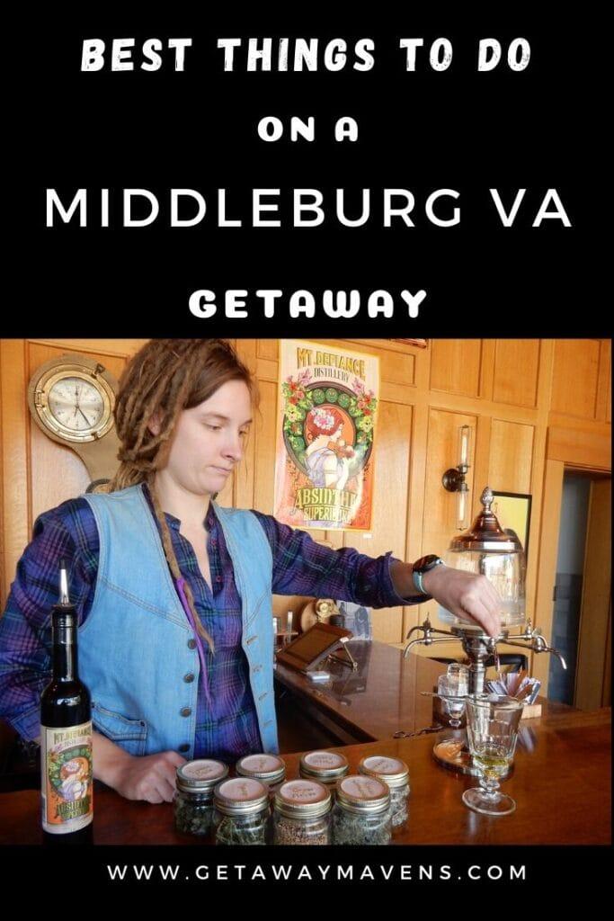 Middleburg VA Getaway Pin