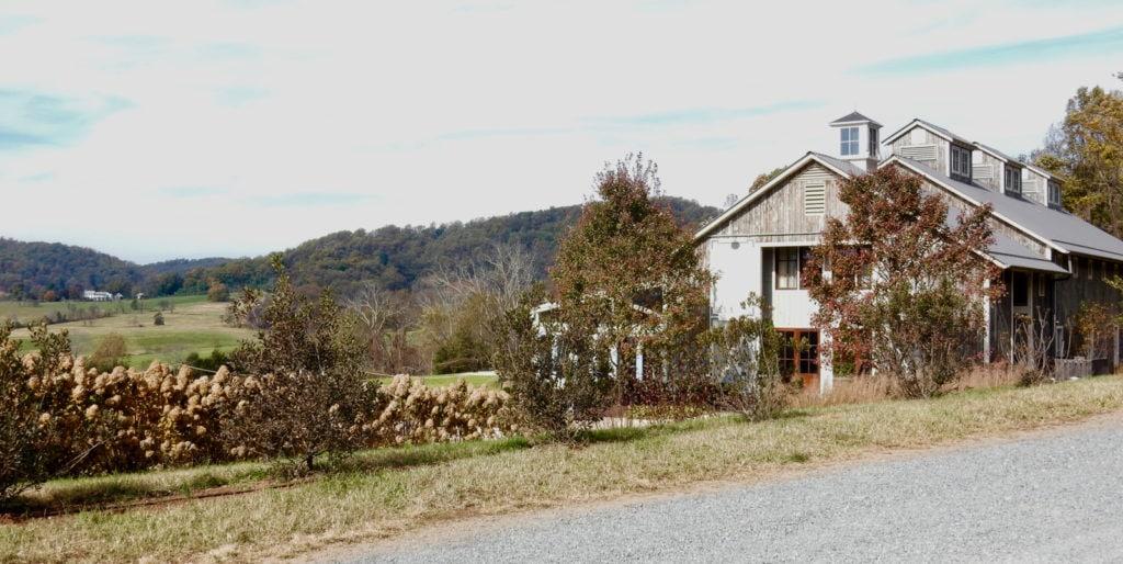 Pippin Hill Winery late autumn Charlottesville VA