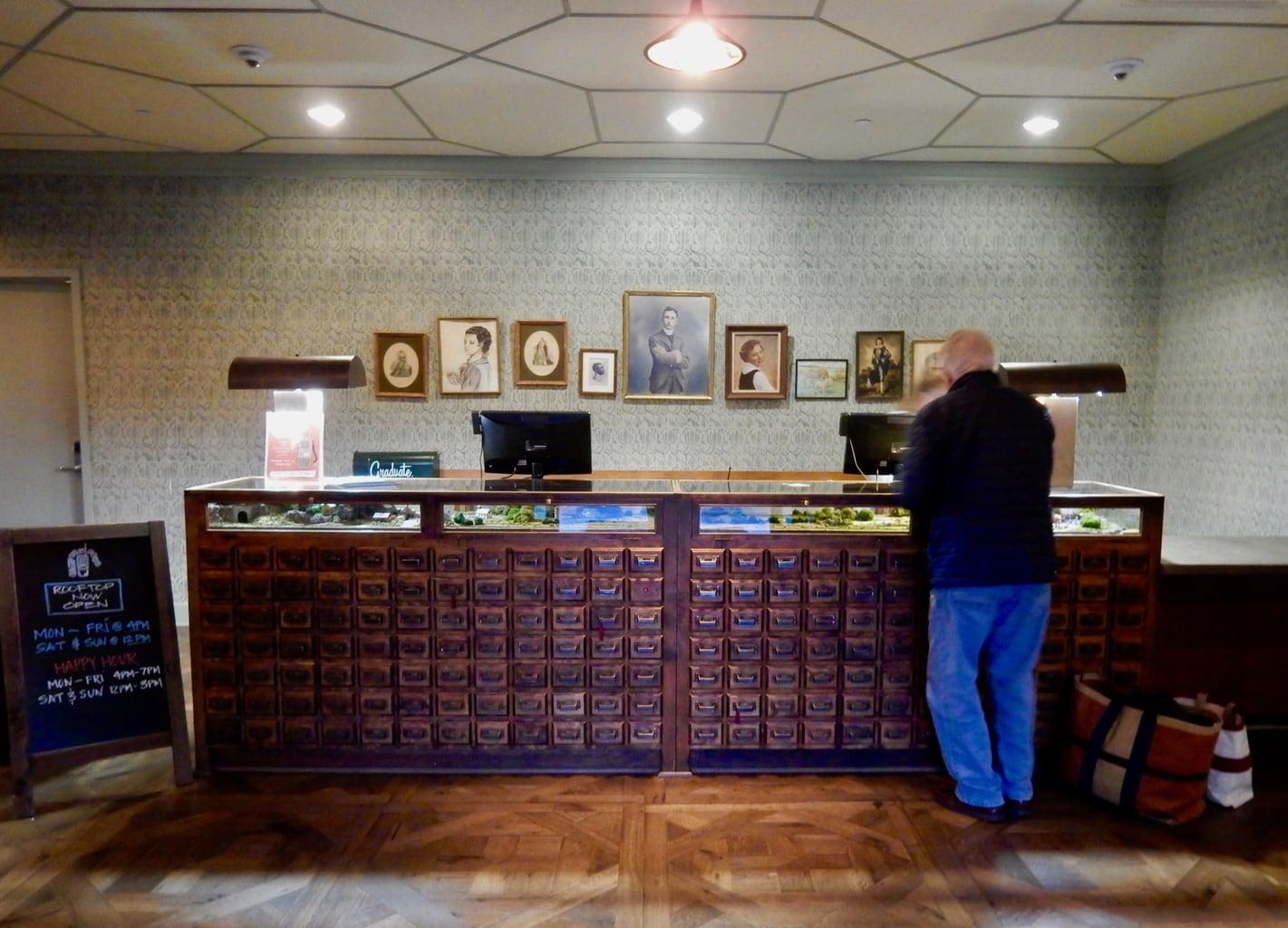 Reception Graduate Hotel Charlottesville VA