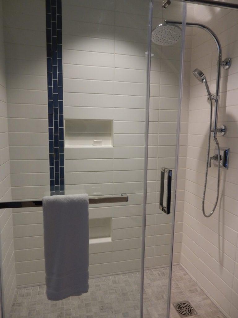 Shower - The Bristol Hotel, Bristol VA