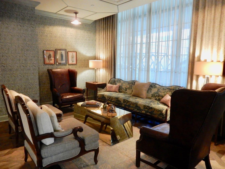 Sitting Area The Graduate Hotel Charlottesville VA