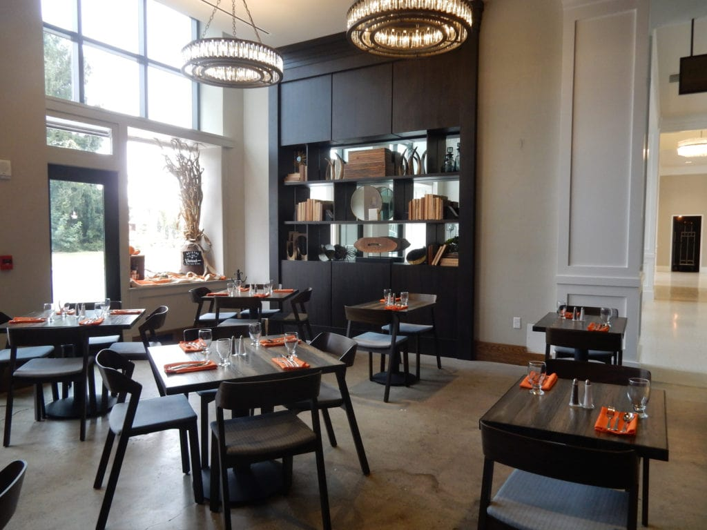 Vivian's Table at The Bristol Hotel VA