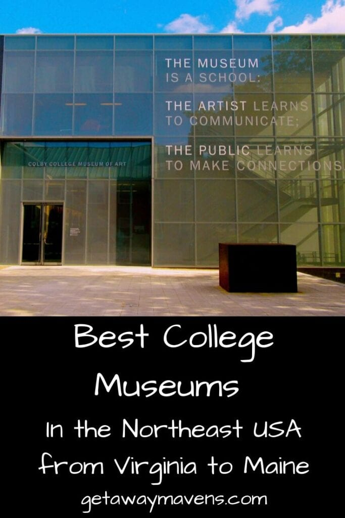 Best College Museums Northeast Pin
