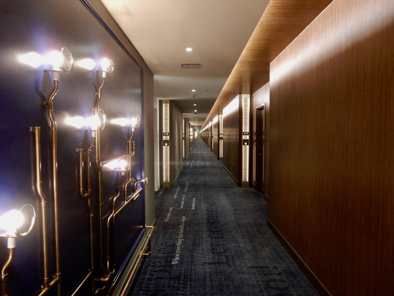 MGM Springfield Hotel Hallway