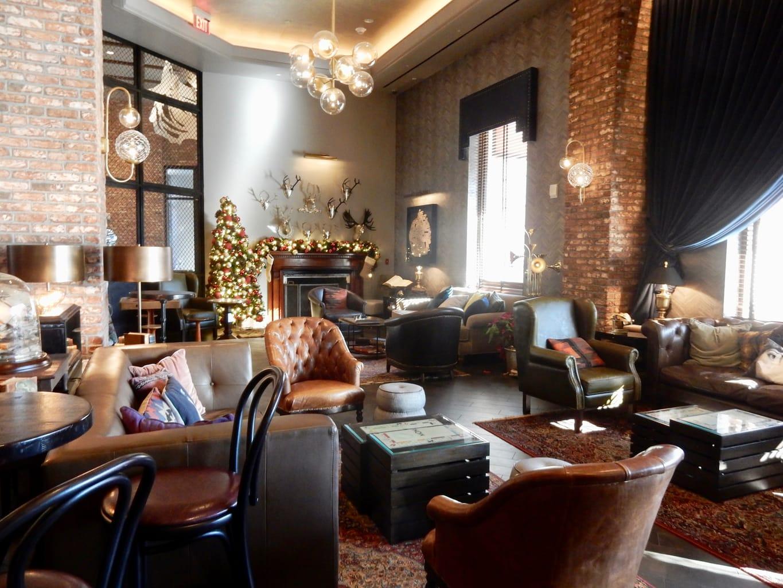 MGM Springfield Hotel Lobby Bar