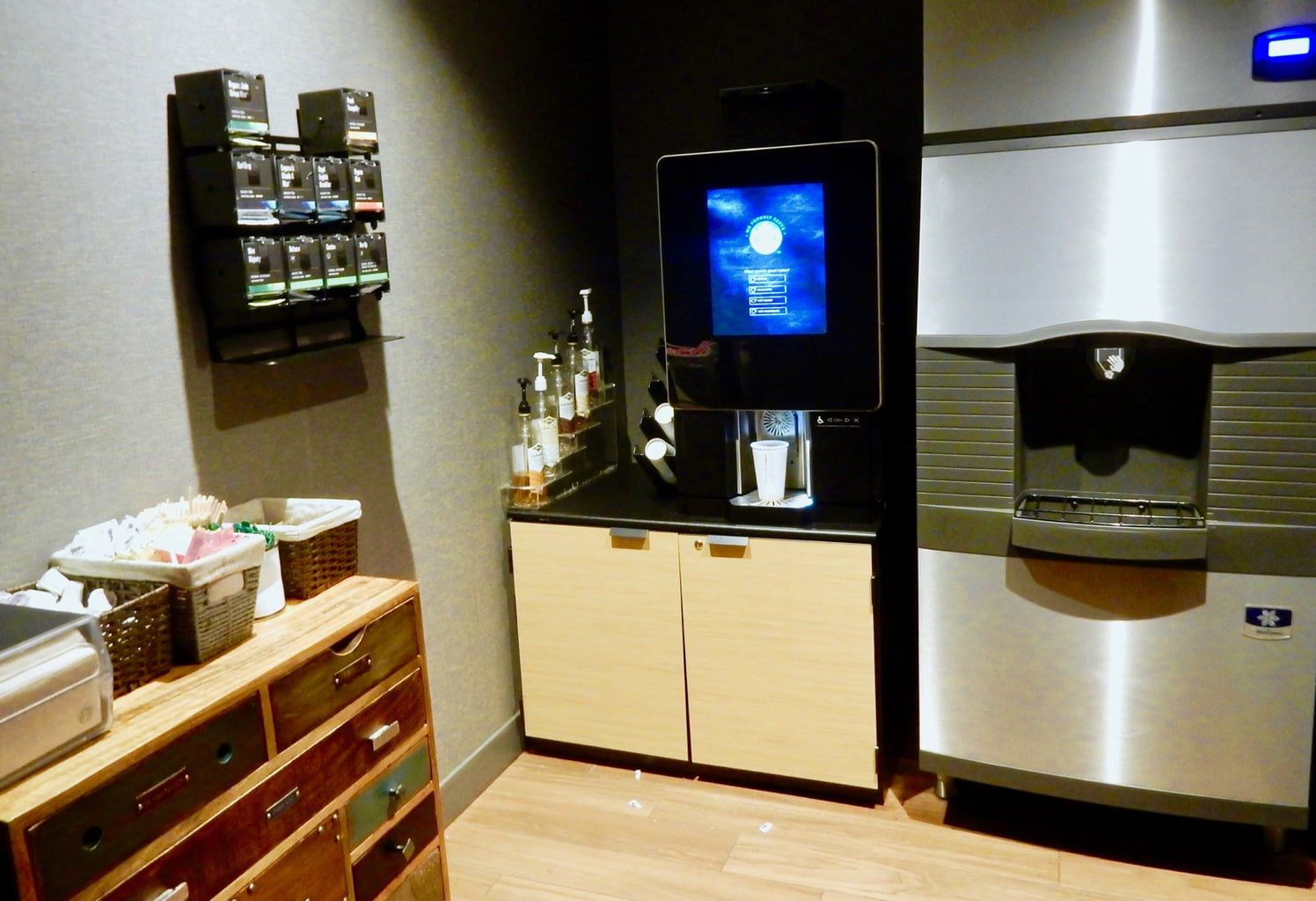 MGM Springfield Hotel Starbucks Machine