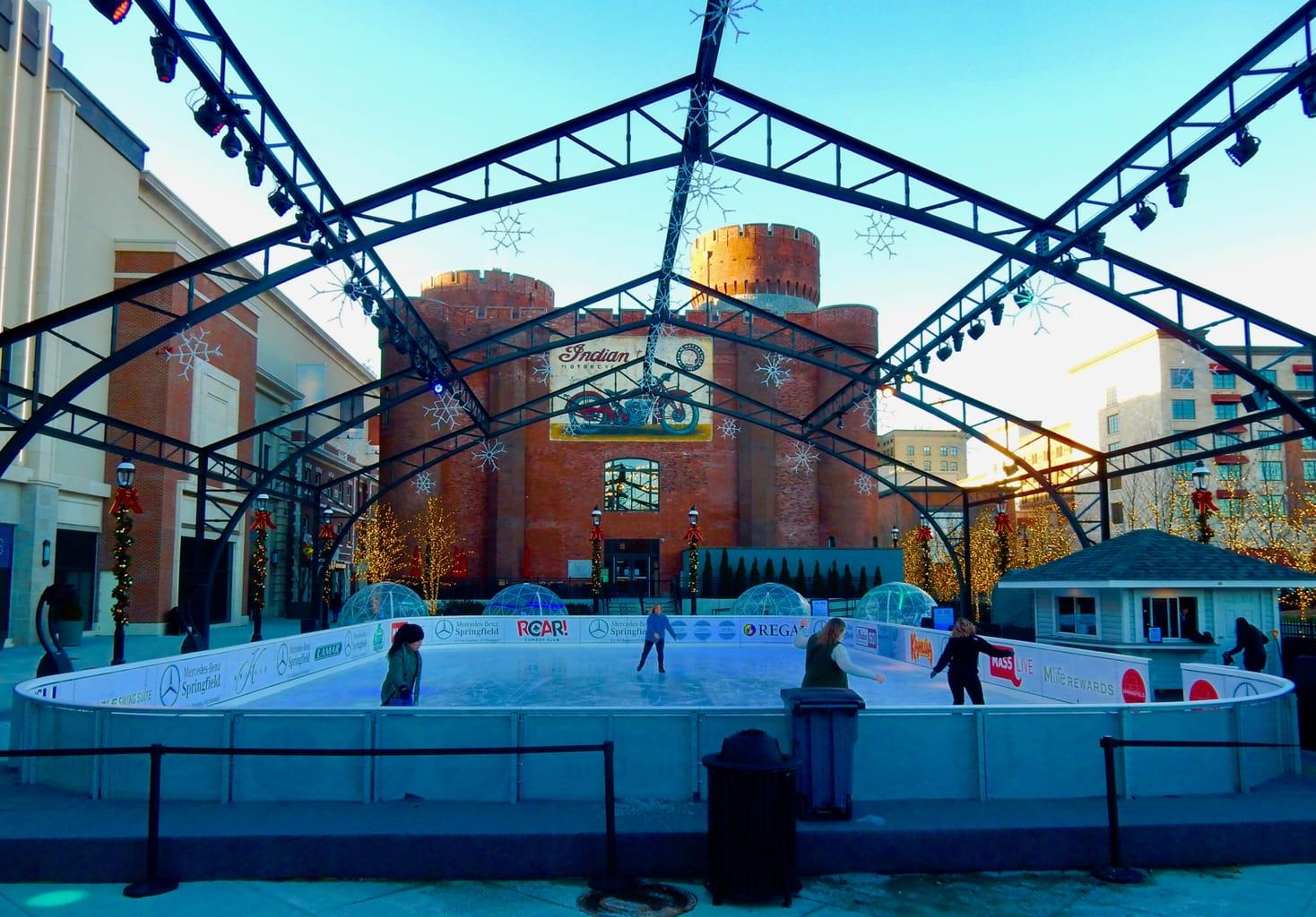 MGM Springfield Skating Rink