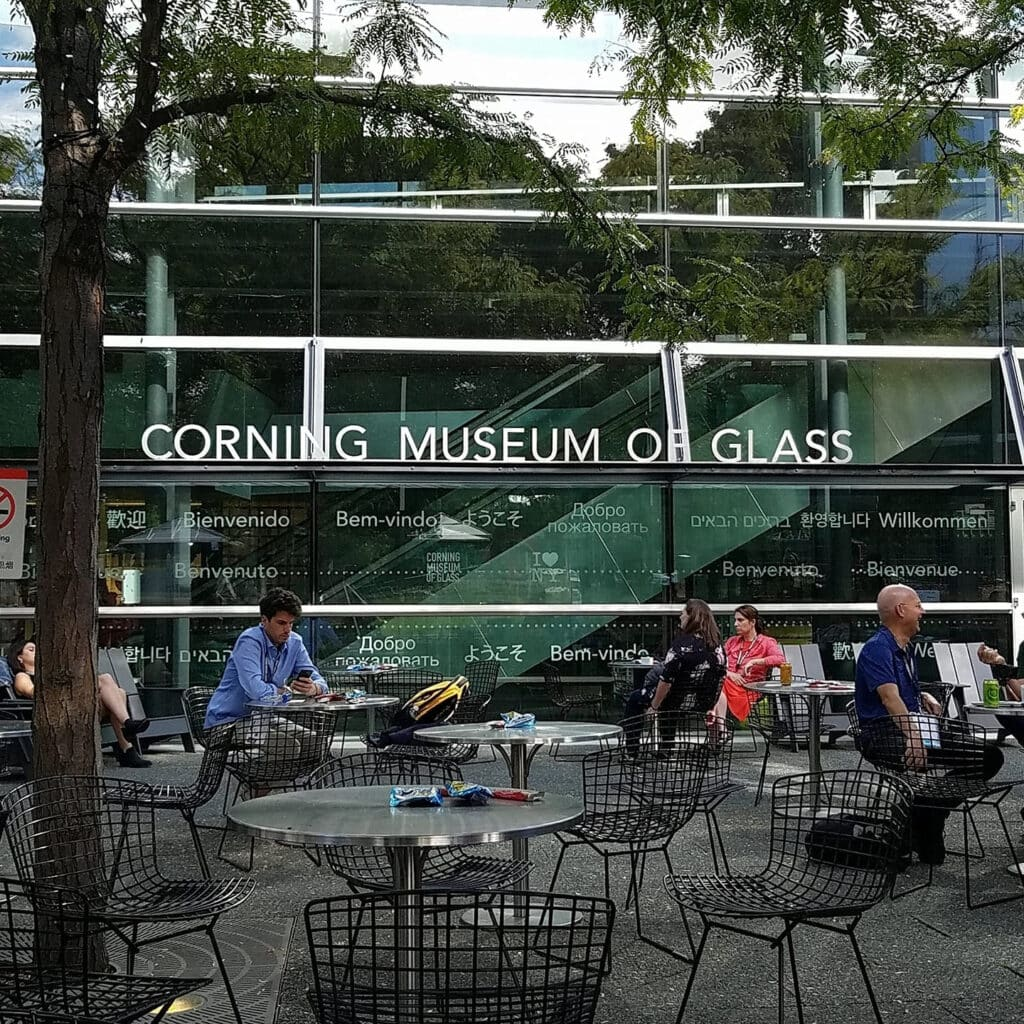 Patio Corning Museum of Glass