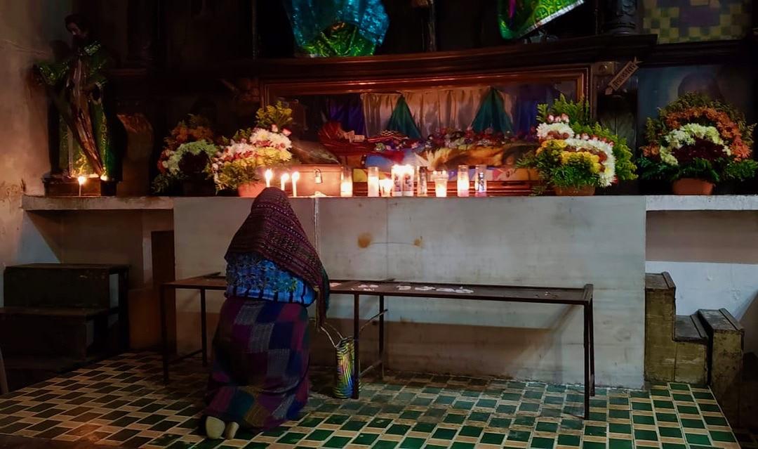 At prayer - Lake Atitlan Guatemala