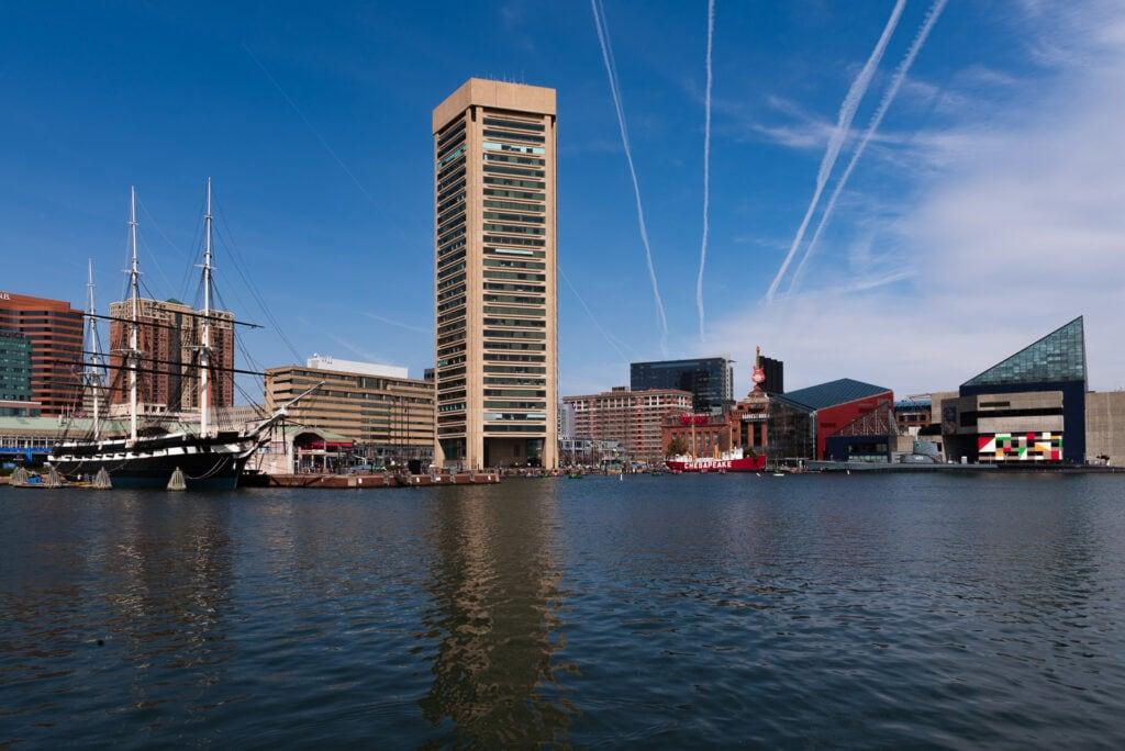 Baltimore MD Inner Harbor