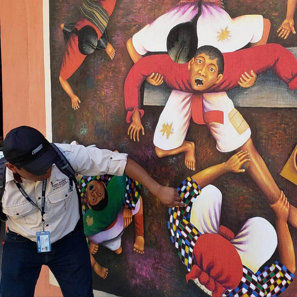 Bone Healer Mural San Juan Atitlan Guatemala