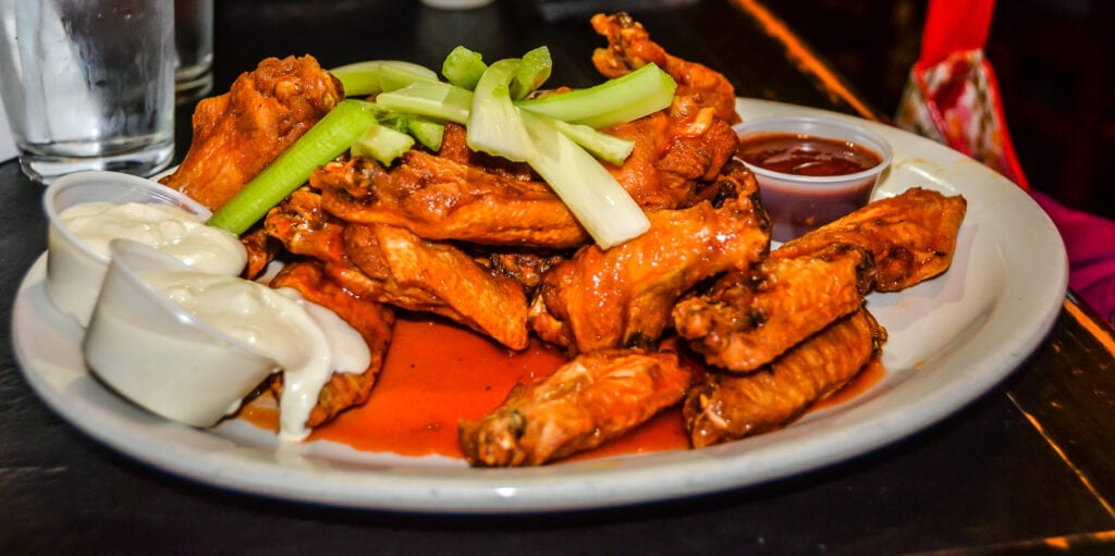 Buffalo Wings at Anchor Bar in Buffalo NY