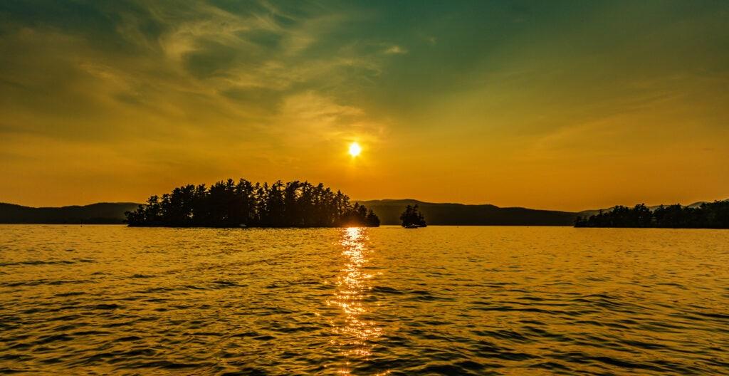 Sunset - Lake George NY