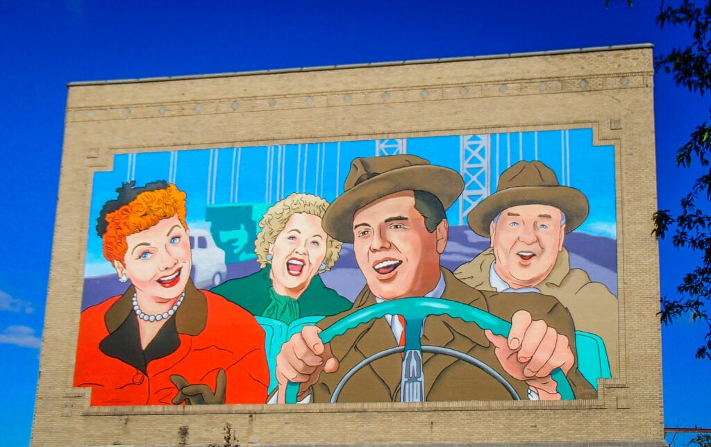 Lucille Ball Mural - Jamestown NY