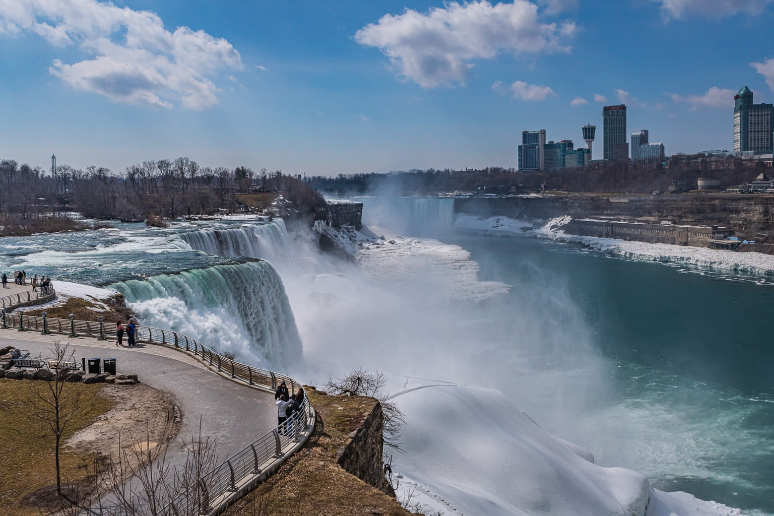 Niagara Falls State Park, Honeymoon Capital of the US, is the ultimate travel destination for romantic getaways in NY.