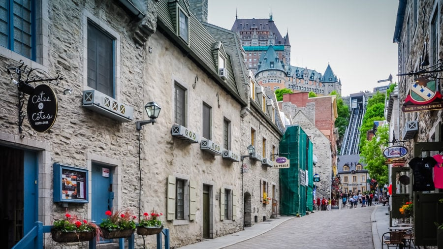 The Historical Romance of Quebec City