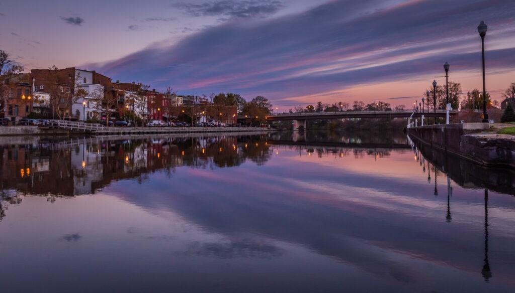 Seneca Falls NY at Twilight