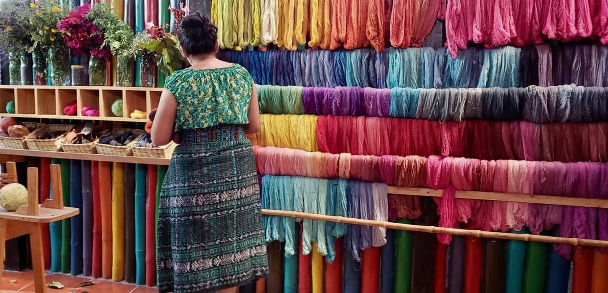 Womens Weaving Collective San Juan Atitlan Guatemala