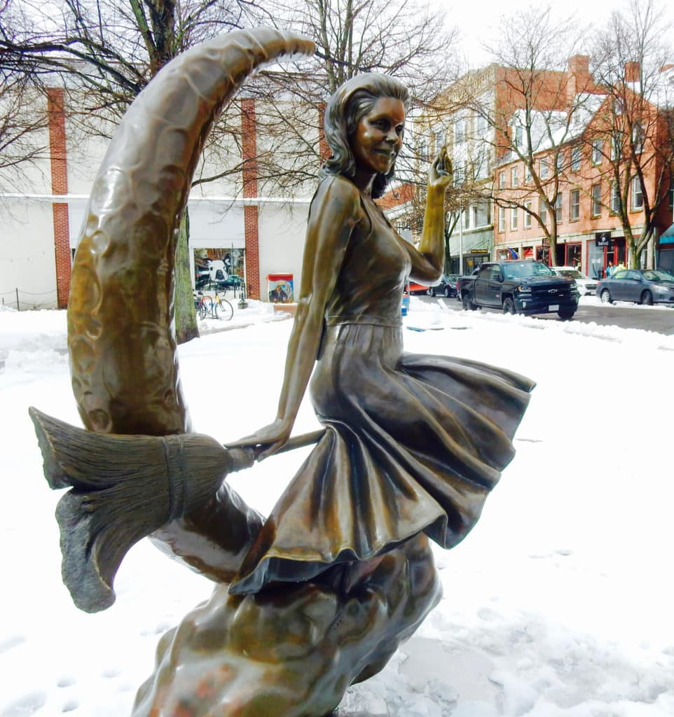 Bewitched Statue Salem MA