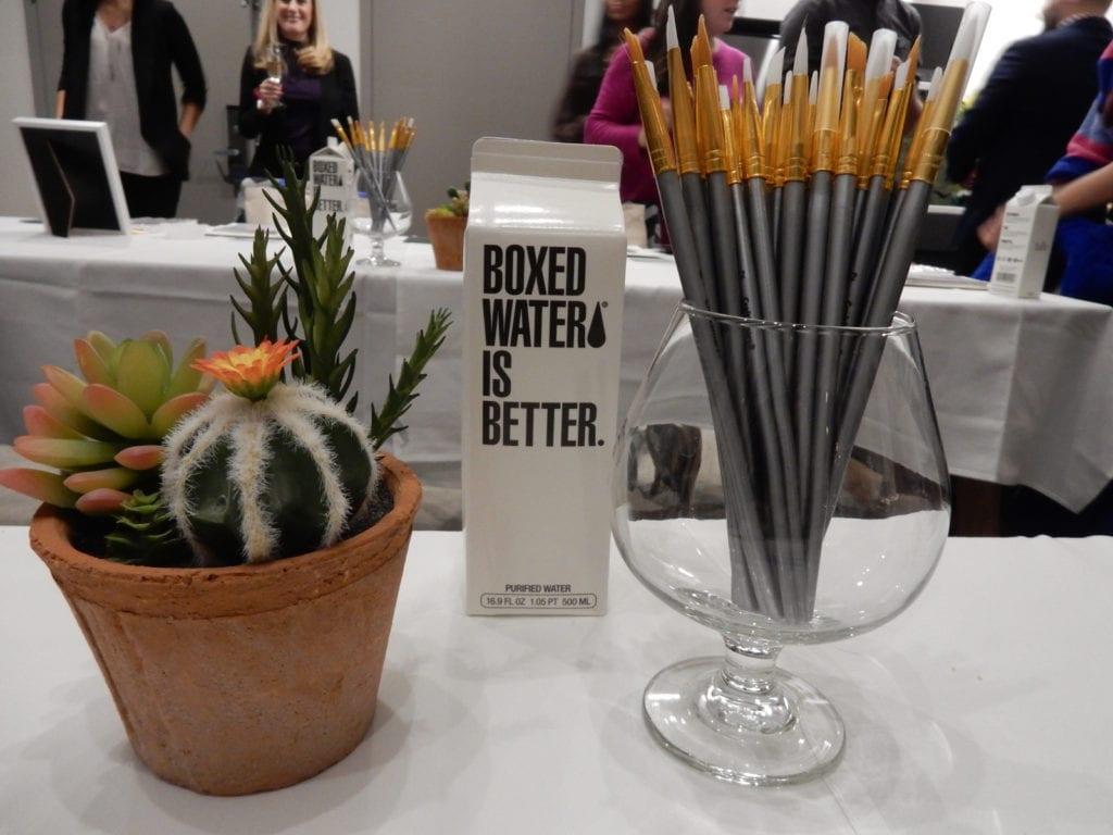 Box Water Art Supplies The Bernic Hotel NY NY