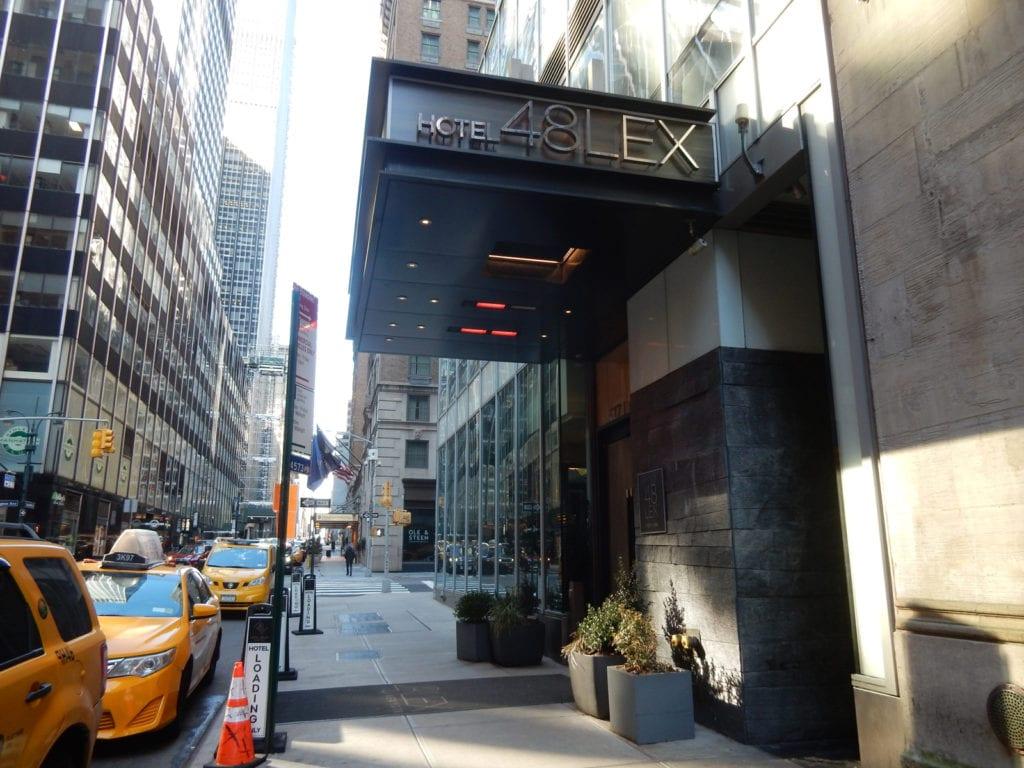 Exterior Hotel 48Lex NY NY