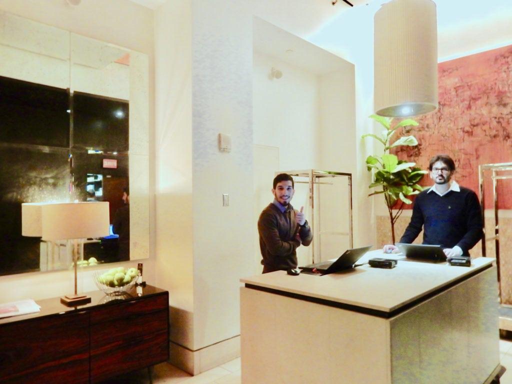 Hotel 48LEX Reception NY NY