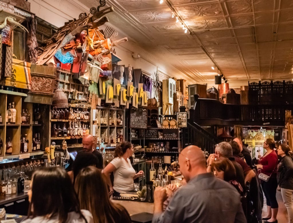 Patrons enjoying the Imperial Bar in Sanford Florida.