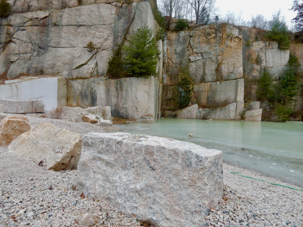 Stony Creek Granite Blocks Stony Creek Quarry CT