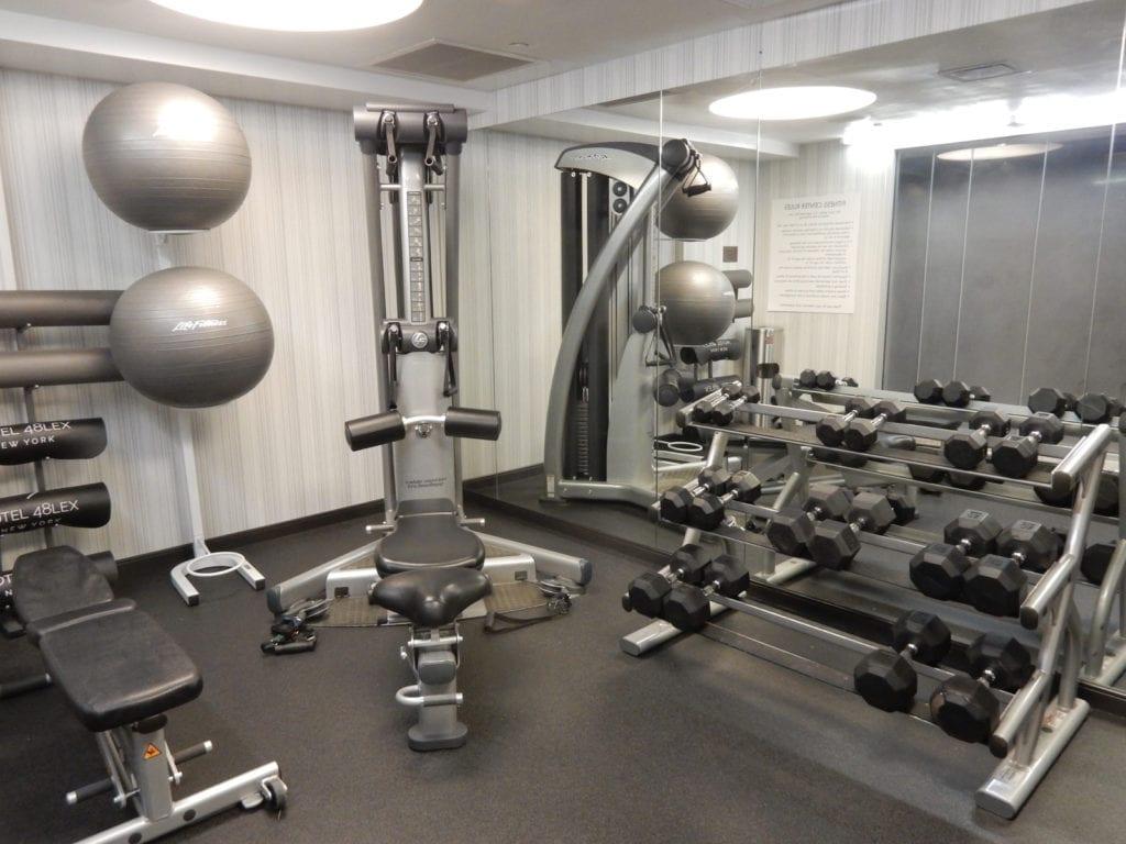 Weight Room Hotel 48LEX NY NY