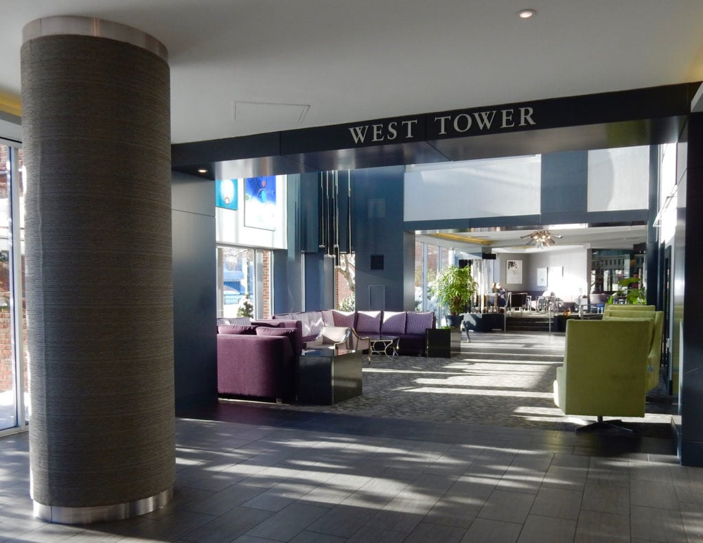 West Tower Lobby Royal Sonesta Boston