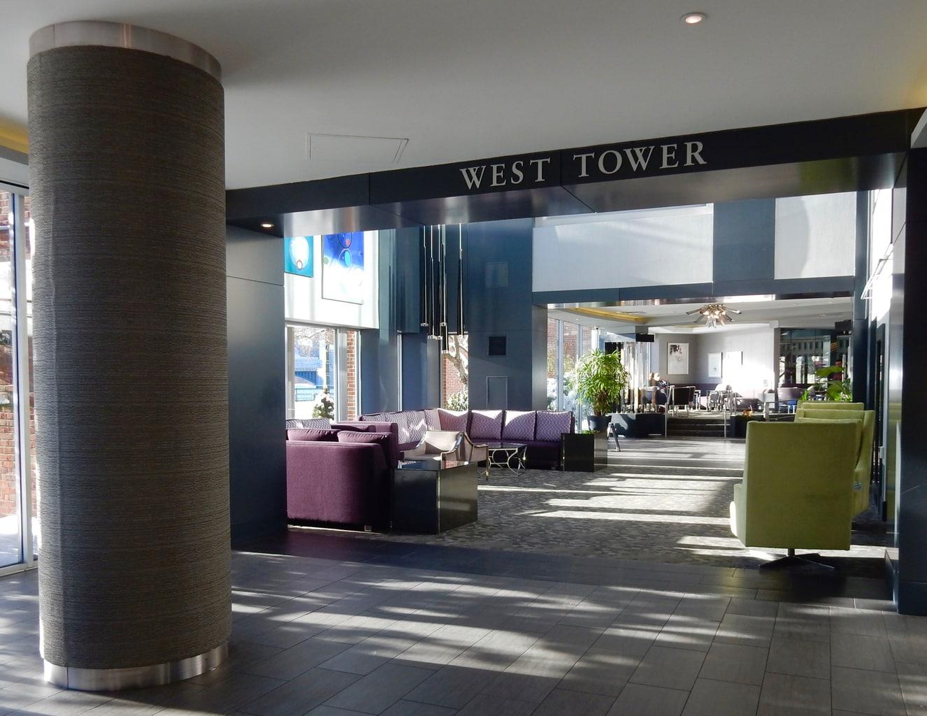 West Tower Lobby Royal Sonesta Boston