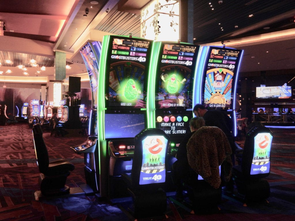 4-D Slots Resorts World Catskills NY