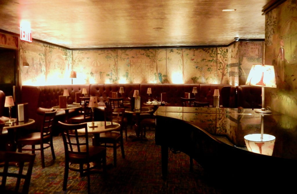 Bemelman's Bar Carlyle Hotel NY NY