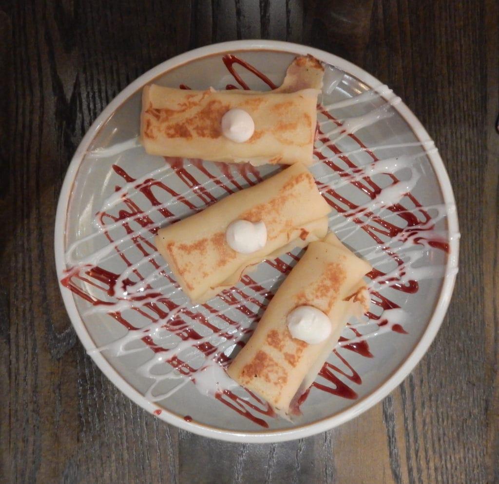 Blintz plate Resorts World Catskills NY