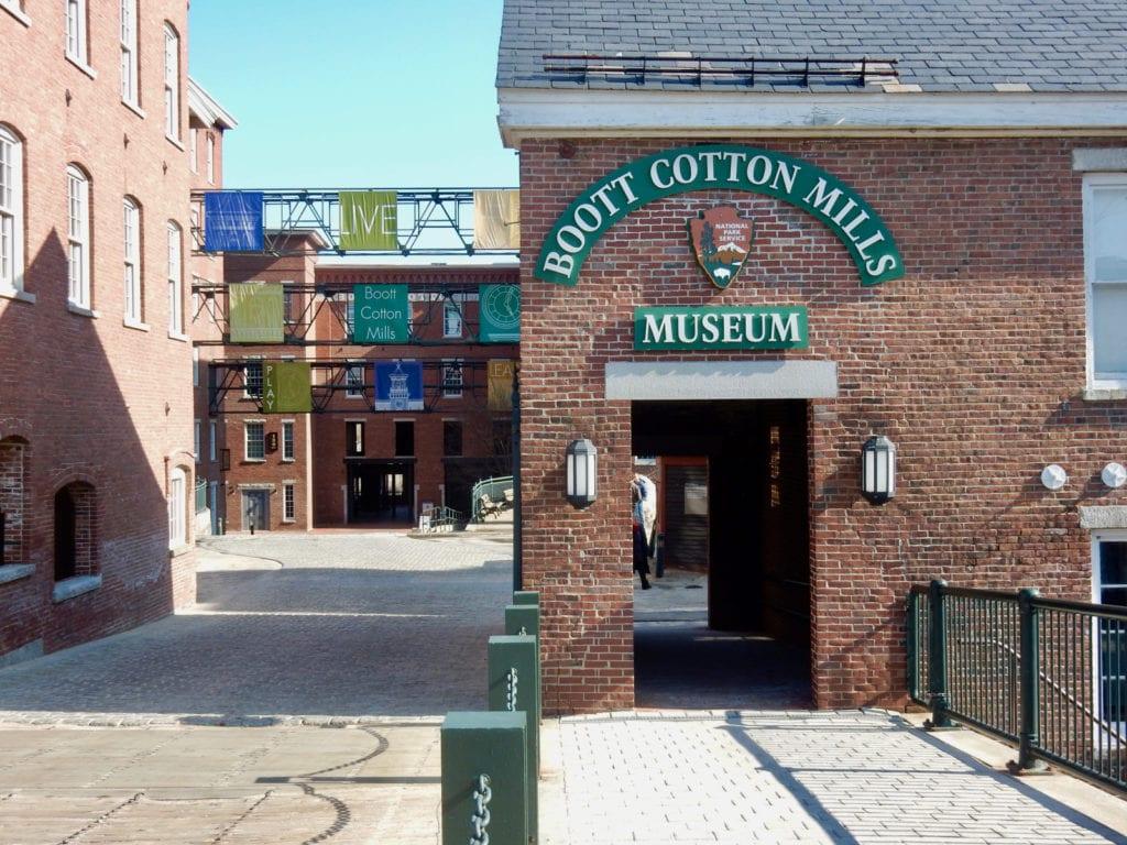 Boott Cotton Mills Museum Lowell MA