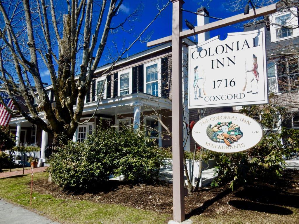 Colonial Inn exterior Concord MA