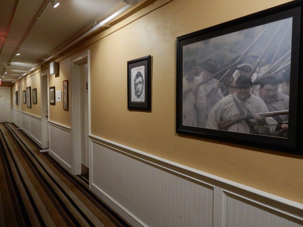 Colonial Inn Hallway Concord MA