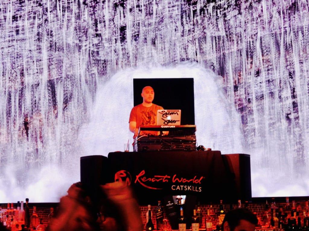 DJ at Resorts World Catskills Monticello NY