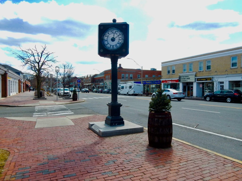 Downtown Lexington MA